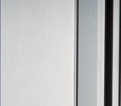 Clear Anodnized Garage Door Frame