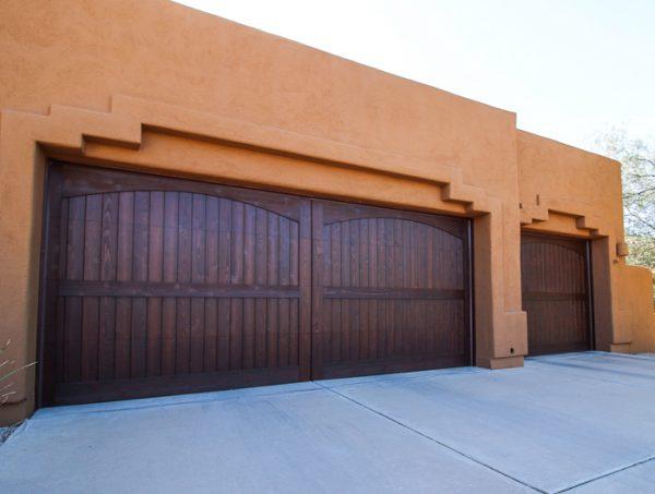 Garage Wood garage doors